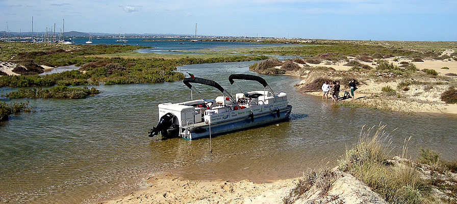 Boat trips Ria Formosa, Algarve with Natura Algarve