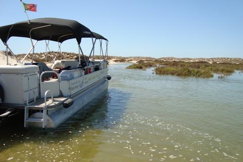 Boat trip to Parque Natural da Ria Formosa (from Olhão)