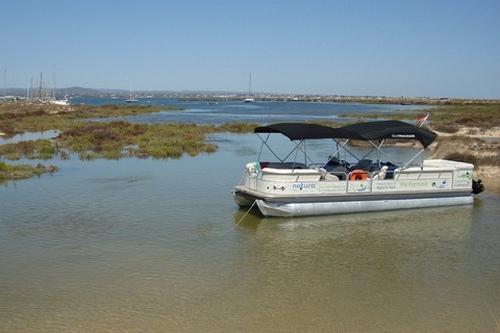 A Boat Trip in Ria Formosa . Olhão . Algarve